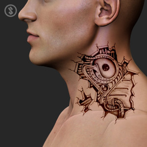 artslaves-bio-mechanical-narcissic-head